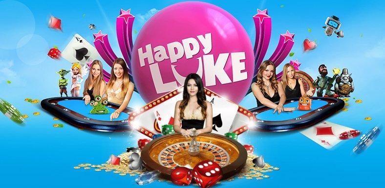 HappyLuke เว็บคาสิโนออนไลน์ครบวงจร